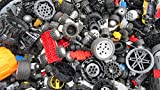 #6: 2 Pounds of Lego Wheels Includes Hundreds of Pieces