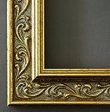 Bilderrahmen Verona 558P-ORO Gold 4,4 - Über 14000 Größen - 30 x 47 cm - mit Normalglas - Maßanfertigung ohne Aufpreis