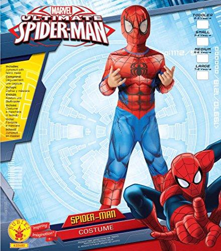 Imagen de el hombre araña último clásico  childrens disfraz  pequeño  104cm  edad 3 4 alternativa