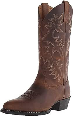 Stivali da Uomo a met脿 Polpaccio Scarpe Vintage in Pelle PU Slip On Uomo Slip On Cowboy Autunno Inverno Chelsea Stivali da Equitazione