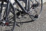 Crops Pro Q10 Leichtes Kabelschloss mit einstellbarer 3fach Zahlenkombination - robustes 2x3mm Durchmesser Doppelstahl-Kabel - 150cm lang - Diebstahlsicherung - Fahrrad Reisegepäck Snowboard Motorradhelm -