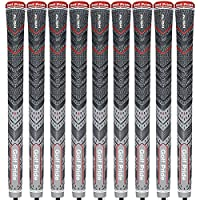 """""""NEW 2017"""" 9 X GOLF PRIDE MULTI COMPOUND CORD PLUS4 ALIGN CHARCOAL / GREY GRIPS"""