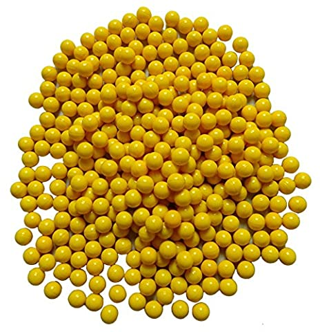 Yellow Fill Filled Paintball Airsoft Pellet 1000 Count 68 Caliber Wholesale