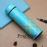 Frabble8 Stainless Steel BPA Free Insulated Thermos Leakproof Sipper Water Bottle with Strainer