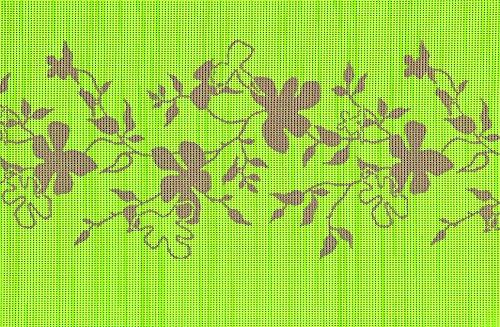 Friedola Miami Tischset, grün, 30 x 45 x 0,4 cm, 40347