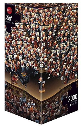 Heye Loup 8660 Orchestra- Puzzle da 2.000 pezzi