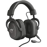 Trust Cuffie Gaming GXT 414 Zamak con Flessibile Microfono Staccabile e Archetto Regolabile, 3.5 mm Jack, Filo, Over Ear…