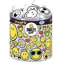 Stampo Smiley: 38 Stempel und 1 Stempelkissen