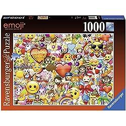 Ravensburger-4005556197729 Puzzles 1000 Piezas, Emoji, (19772)