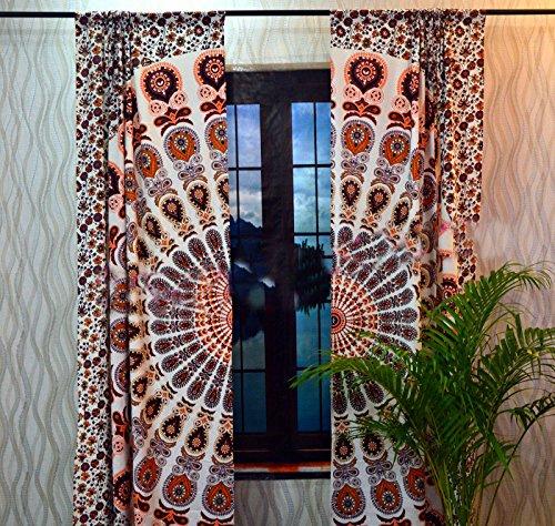 Sophia Art indischen Pfau Mandala Baumwolle Hippie Tapisserie Tür cutain Decor Gardinen Fall Raum...