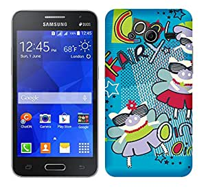 Wow 3D Printed Designer Mobile Case Back Cover for Samsung Galaxy Core 2/Samsung Galaxy Core 2 (SM-G355H)