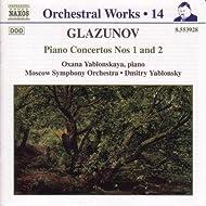 Glazunov: Piano Concertos Nos. 1 And 2