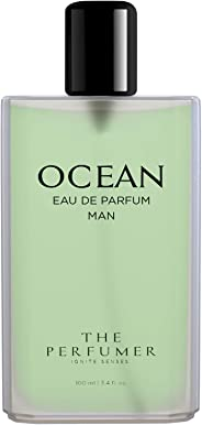 The Perfumer Ocean Perfume for Men Fresh Aquatic Fragrance, 100 ml