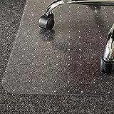 Kaiser Bodenschutzmatte | Made-In-Germany | für Teppichboden | 115 x 135 cm | aus PET