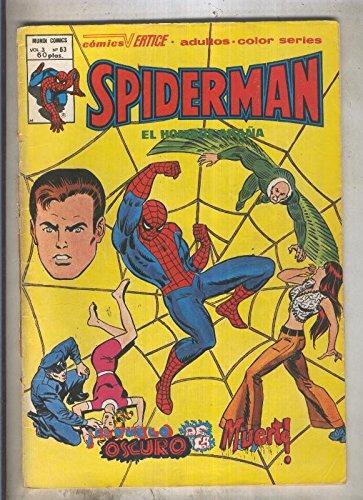 Spiderman volumen 3 numero 63 (numerado 3 en trasera)