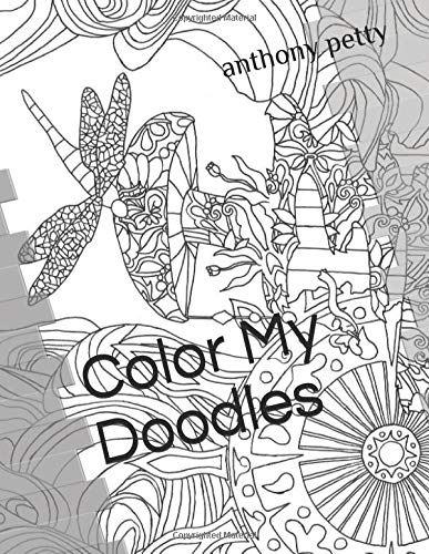 Color My Doodles: Tripy Adult coloring book