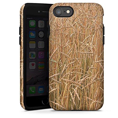 Apple iPhone X Silikon Hülle Case Schutzhülle Kornfeld Landschaft Feld Tough Case glänzend