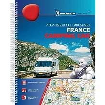 France Camping Car Atlas A4 spiral atlas: Tourist & Motoring Atlas A4 spiral (Michelin Road Atlases)
