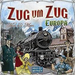 Asmodee - Days of Wonder 200098 - Zug um Zug Europa Zug um Zug