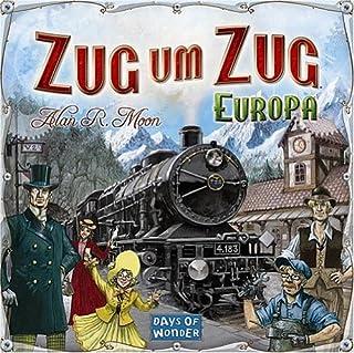 Asmodee - Days of Wonder 200098 - Zug um Zug Europa (B0007XQQSA) | Amazon Products