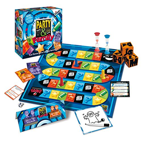 Party & co - Family, juego de mesa (Diset 10118)