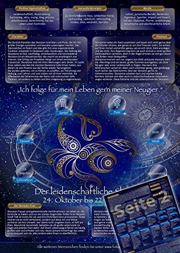 Sternzeichen Skorpion - Die Horoskop- und Charakter-Karte für Liebe, Partnerschaft, Beruf, Finanzen und Gesundheit: Die psychologische Astrologie von...