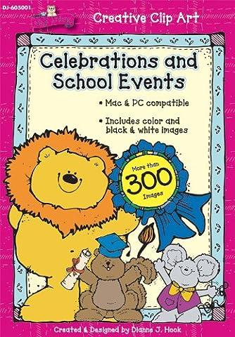 Celebrations and School Events Clip Art
