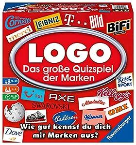 Ravensburger 26083 Logo-Das große Spiel Der Marken - Juego de Mesa Importado de Alemania