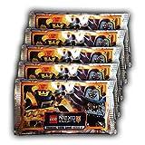 Blue Ocean - LEGO Nexo Knights Serie 2 Sammelkarten - 5 Booster Packungen (25 Karten)