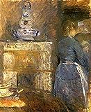 Das Museum Outlet–1880La Salle eine Krippe, gespannte Leinwand Galerie verpackt. 50,8x 71,1cm