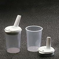 Ayudas dinamicas - Taza alimentación con tetina regulable orificio . (par), talla 8 mm