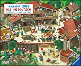 Ali Mitgutsch 2019 - Wimmelbilder - DUMONT Kinder-Kalender: Rundherum in Stadt und Land