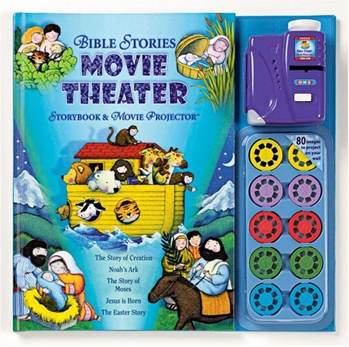 Bible Stories Storybook and Movie Projector (Movie Theater Storybooks)