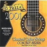 Labella L2001MT Concert Série Jeu de Cordes pour Guitare Medium Tension