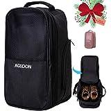 Golf Shoe Bag, Travel Sports Shoes Bags for Men - Black