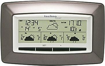 Technoline WD 4005 satellitengestützte Wetterstation mit zuverlässiger Wettervorhersage für 4 Tage