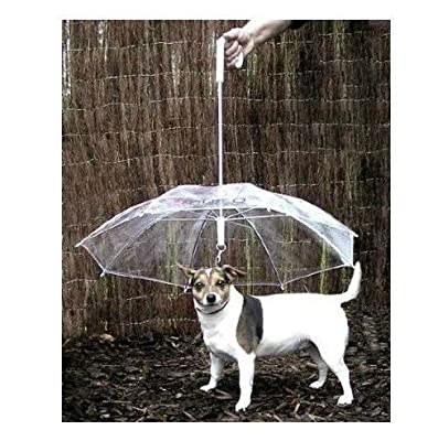 HappyLife Pet Umbrella (Dog Umbrella) Keeps your Pet Dry and Comfotable in Rain