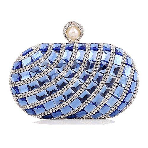 Eysee, Damen Clutch Oro Oro 17cm * 12cm * 5.5cm Blau