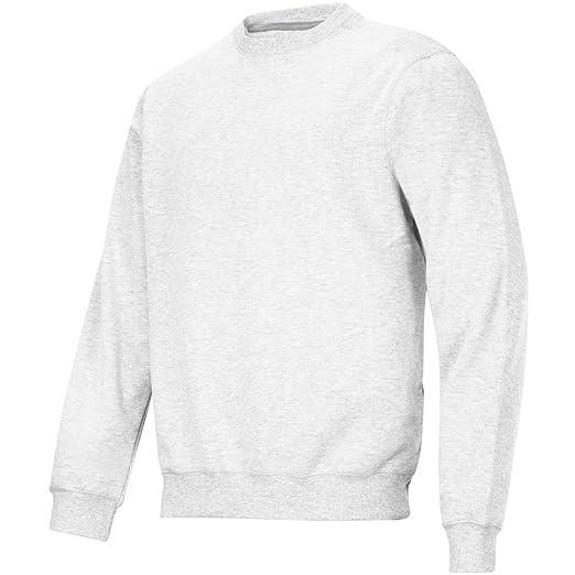 Snickers Rundausschnitt Sweatshirt weiss Größe: L