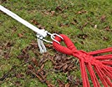 XXL Befestigung für Hängematte an Bäumen | Seilbefestigungsset 6 Meter | Belastbarkeit max. 160 KG | Komplettset - 6