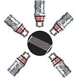 Eleaf EC-M Ohm 5er Pack Melo Verdampferköpfe Coils Mesh Sieb Heads (EC-M 0.15ohm 30-75W)