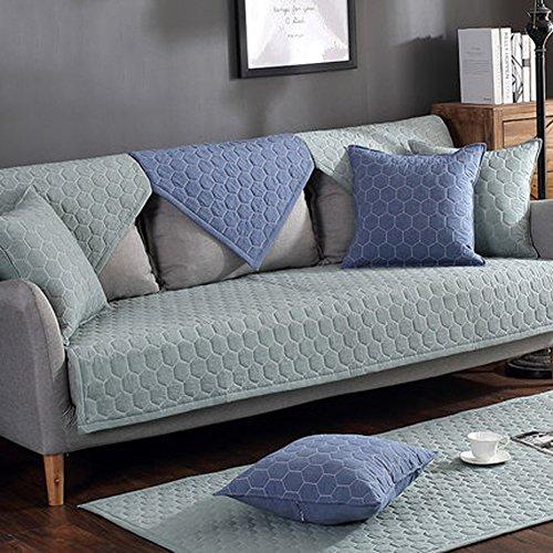 J&SSSU Sofa deckt Anti Rutsch Couch-Abdeckung Couchbezug Für 1 2 3 4 Sofa,1 stück-A 110x180cm(43x71inch) (3 Stück Sofa Stuhl Loveseat)