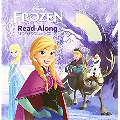 Frozen [With Book(s)] (Read-Along Storybook and CD) by Calliope Glass (Adapter), Disney Storybook Artists (Illustrator), Nolan North (Narrator) (1-Oct-2013) Paperback