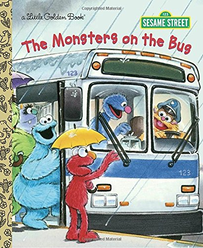 The Monsters on the Bus (Sesame Street) (Little Golden Book Sesame Stre)