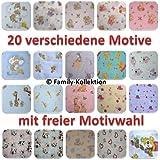 Gasas Impreso 5Pack multicolor para Vómitos paños pañales de tela 70x 80algodón nuevo (5x Unisex Diseños)