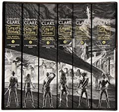Idea Regalo - The Mortal Instruments: The Complete Collection: City of Bones / City of Ashes / City of Glass / City of Fallen Angels / City of Lost Souls / City of Heavenly Fire