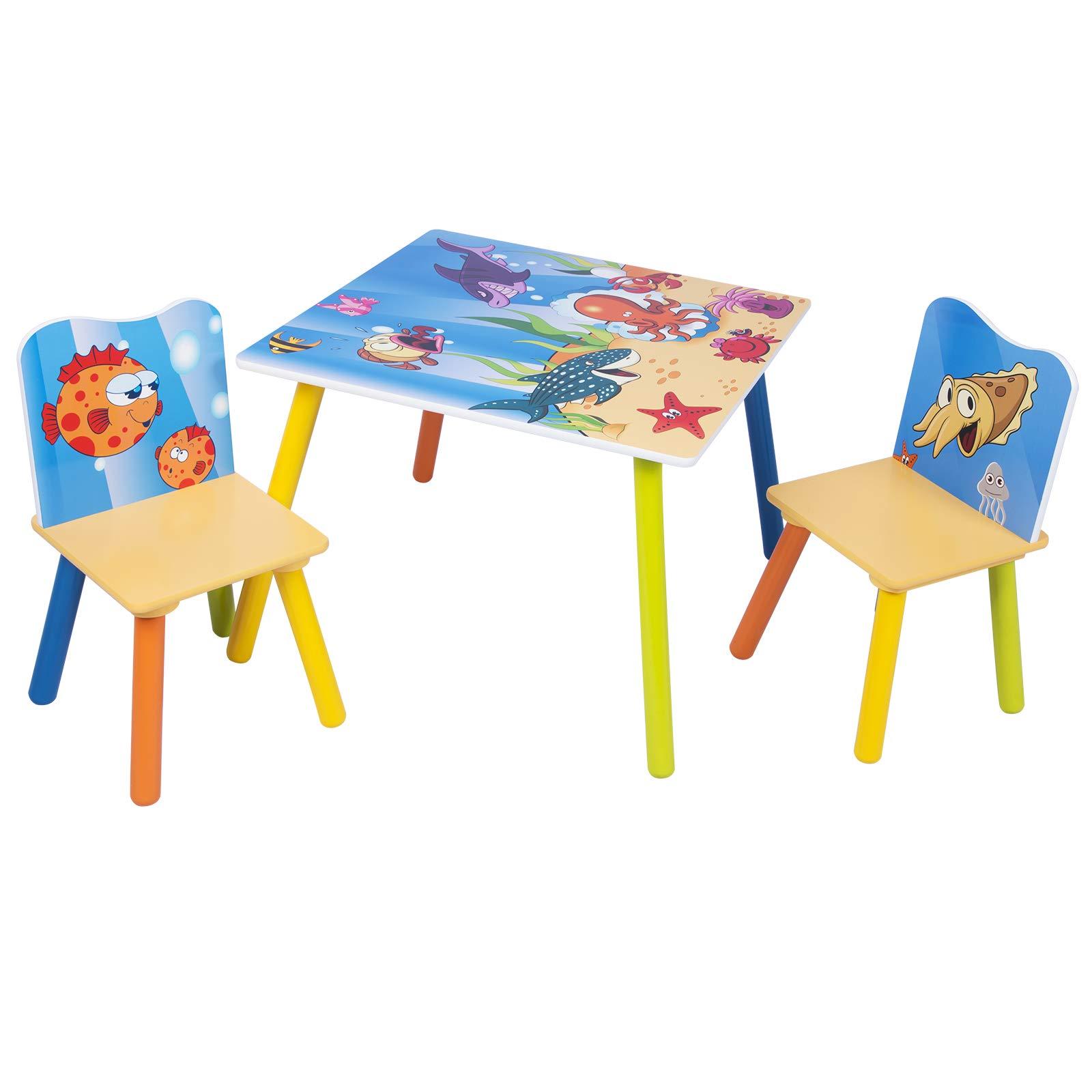Tavolo In Legno Per Bambini Con Sedie.Rif9f594b Mobili Per Bambini Tavolino E Sedie In Legno