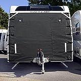 Caravan Universal Front-Cover | Displayschutzfolie Covers Zubehör | dunkel grau