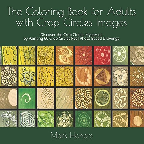 The Coloring Book For Adults With Crop Circles Images Discover Mysteries By