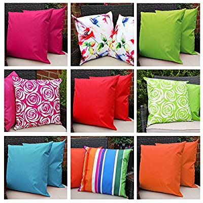 Waterproof Garden Cushions for Chairs - Fibre Filled Cushions for Seats and Benches - Colourful Outdoor Cushion produced by Comfort Co® - quick delivery from UK.